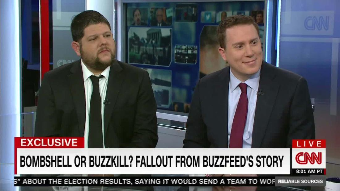 BuzzFeed journalist: 'Our reporting is going to be borne out'