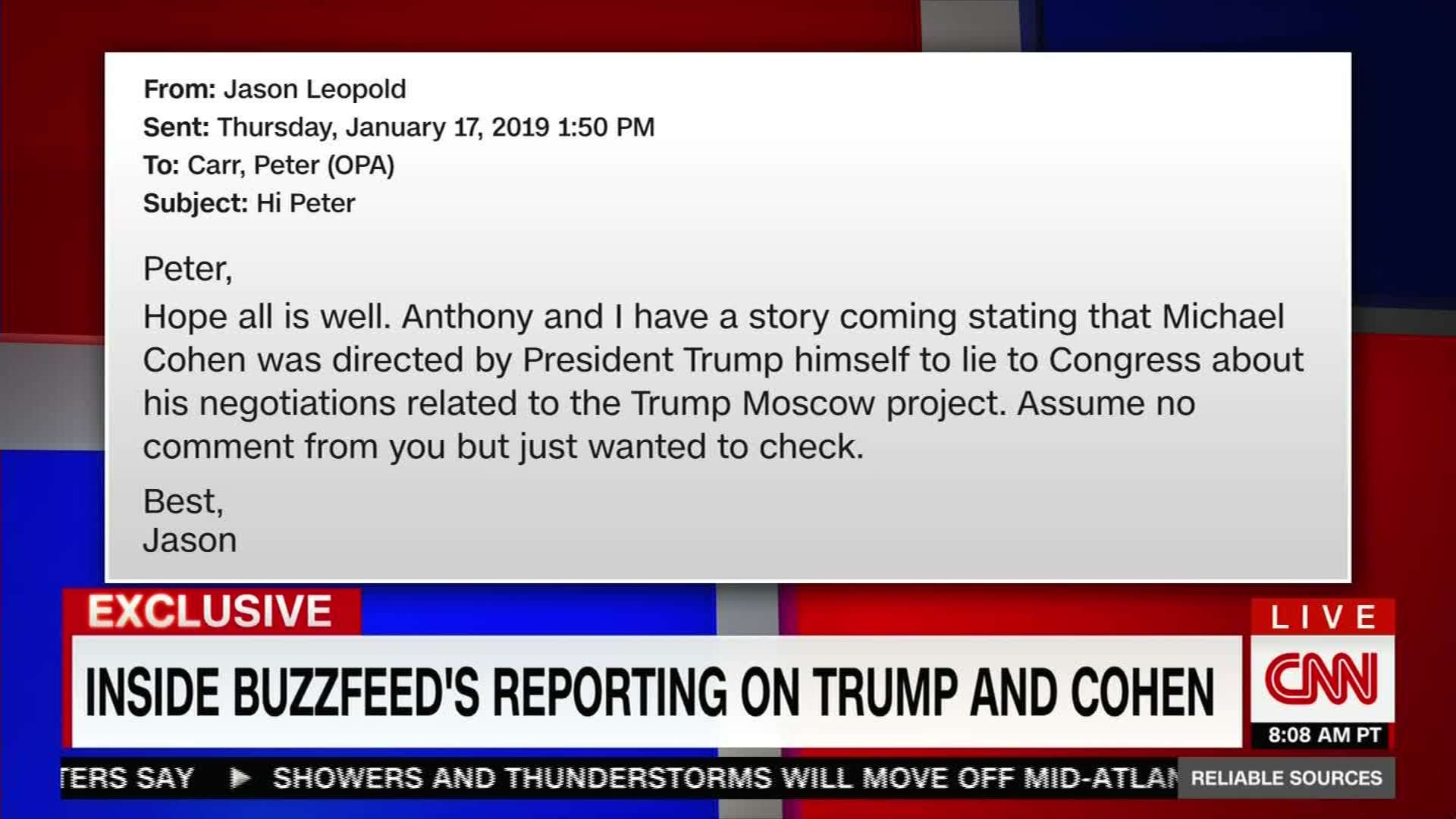 Dereliction Of Duty By BuzzFeed Reporter
