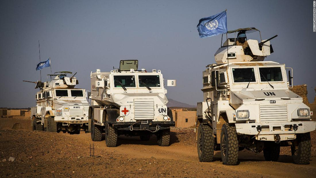 Ten UN peacekeepers killed in attack in Mali