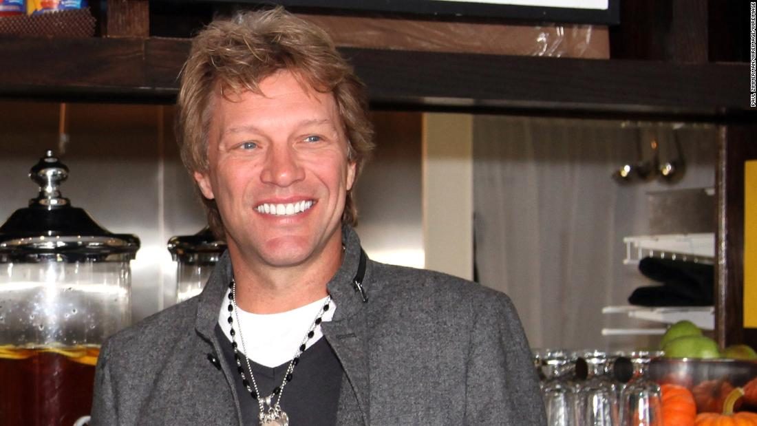 Jon Bon Jovi offering free meals to federal workers during government shutdown - CNN thumbnail