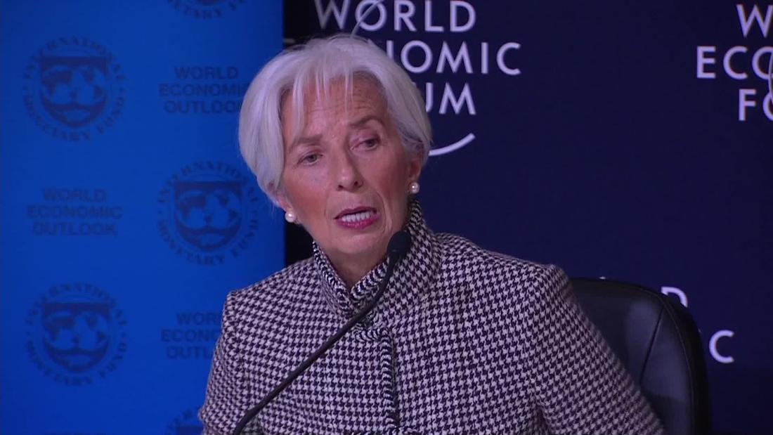 IMF cuts global growth forecast and warns of trade war and Brexit risks