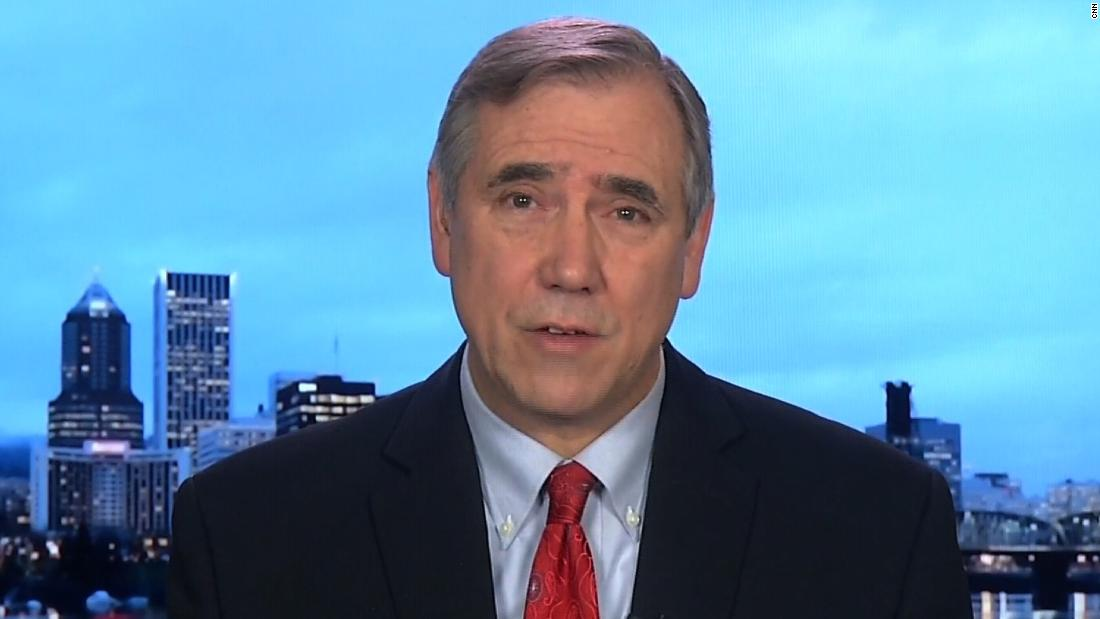 Jeff Merkley says he asked FBI to investigate DHS secretary for perjury because he's 'sick and tired of this administration lying'