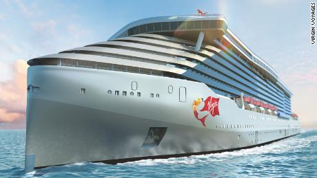 Richard Branson launches his luxury ship, just for adults