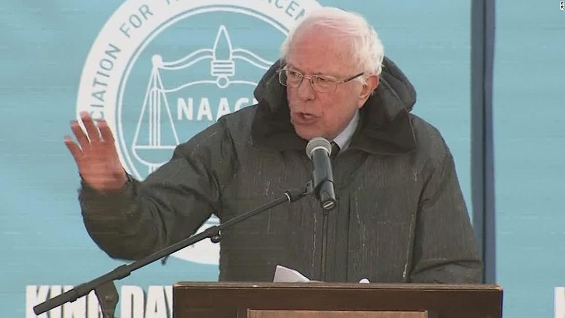 Sanders: We have a president who is a racist