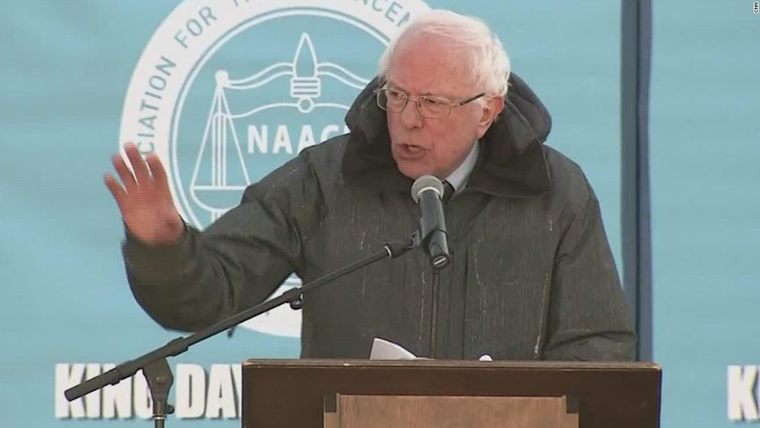 Sanders: We have a president who is a racist - CNN Video