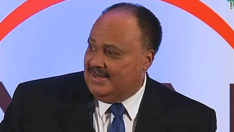 Mlk S Son Slams Pence For Using Dad S Words About Wall Cnn Video