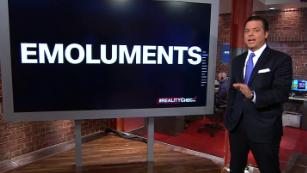 Emoluments and the Trump administration