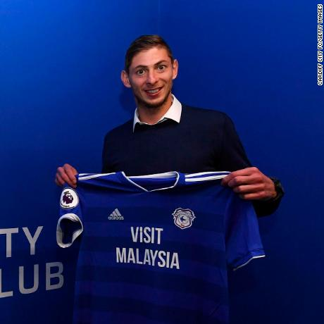 Fears for soccer star on board missing plane (Cardiff City's new $19.3M striker Emiliano Sala was on a flight to his new club when it disappeared)