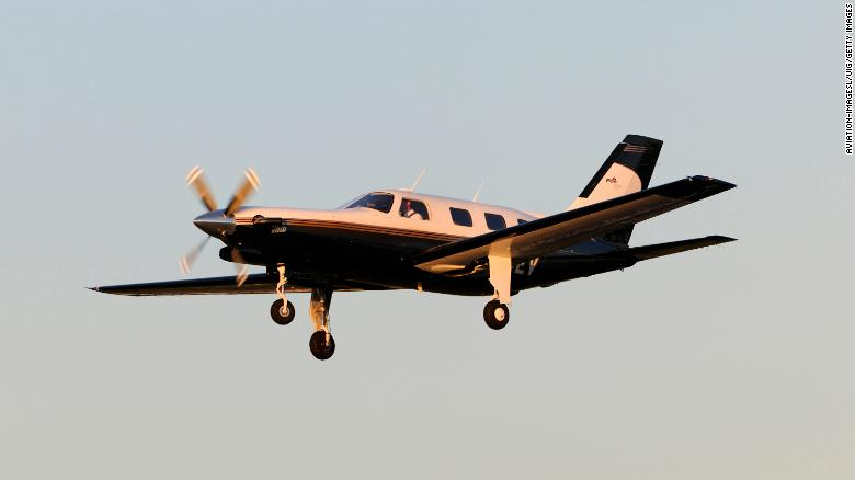 A Piper Malibu plane, similiar to the one Sala was on.