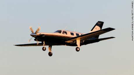 A Piper Malibu aircraft similar to Sala's.