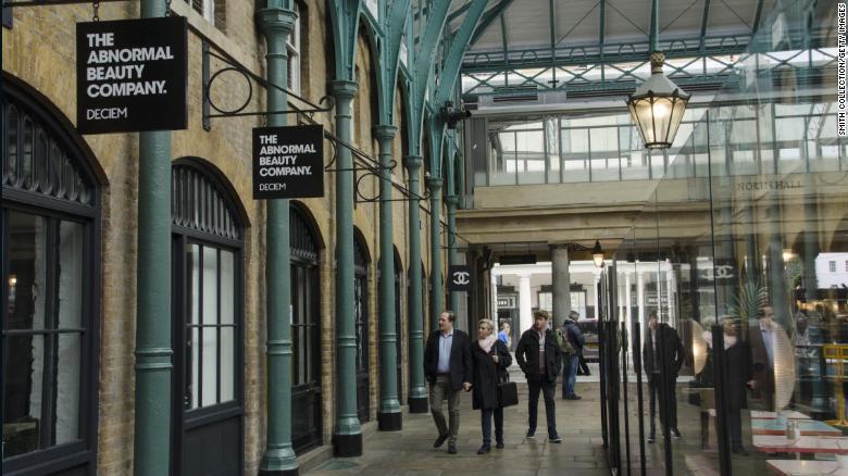 La tienda Deciem en el Covent Garden de Londres es una de las más de 30 tiendas en todo el mundo.