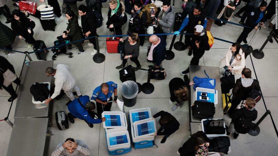 TSA entschuldigt sich nach agent sagt