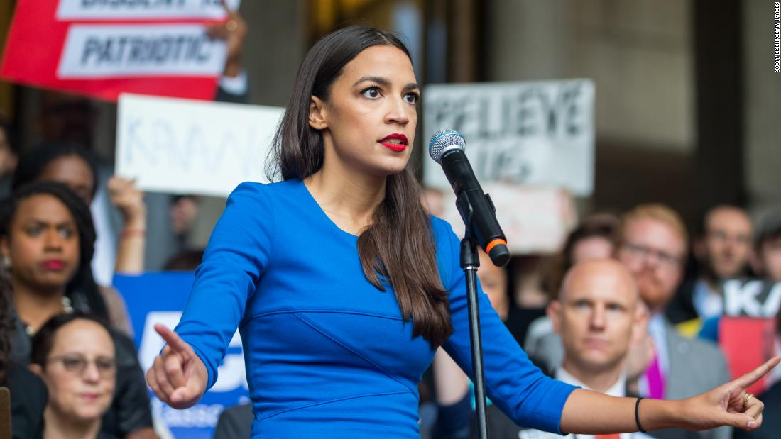 Alexandria Ocasio-Cortez, 'second most talked-about politician in America,' graces Time cover