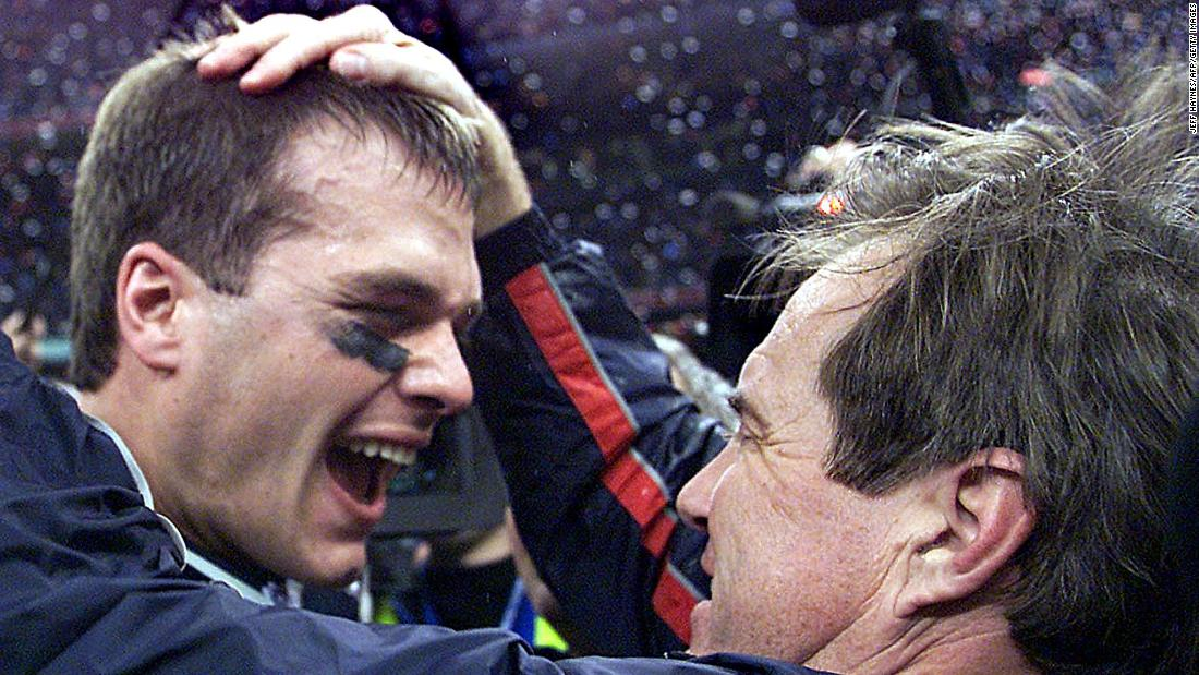 8fb20f763 Patriots vs Rams  A look back at Super Bowl 2002 - CNN