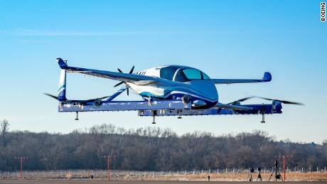 Boeing's first autonomous air taxi flight ends in less than 60 seconds