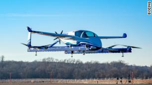 Le premier vol en taxi aérien autonome de Boeing se termine dans moins de 60 secondes