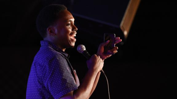 BROOKLYN, NY - MAY 31:  Comedian Kevin Barnett performs onstage at the Vulture Festival Presents: Comedy Night at The Bell House on May 31, 2015 in Brooklyn, New York.  (Photo by Bryan Bedder/Getty Images for New York Magazine)