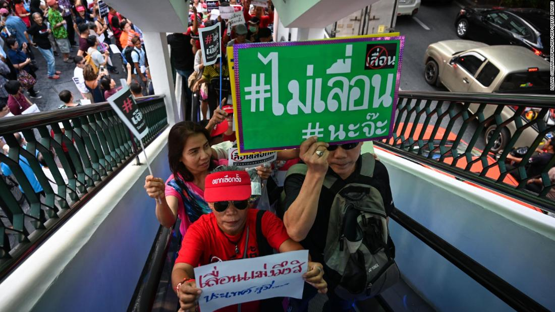 Thais to vote in elections nearly five years after military coup