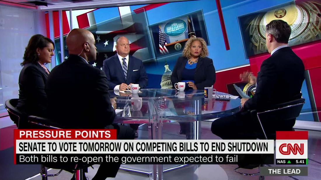 Panelist: Senate votes to end shutdown are 'kabuki theater'
