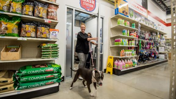 Around 75% of Tractor Supply's customers own pets. Livestock feed and pet food are the company's biggest business.