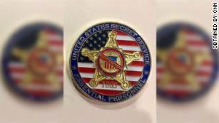Secret Service members create challenge coin for working