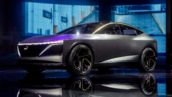 The Nissan IMs is a pure electric all-wheel drive concept car with fully autonomous drive capability.