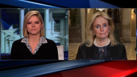 CNN's Kate Bolduan, Rep  Dingell share emotional moment