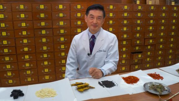 Lao Li Xing, director of the University of Hong Kong School of Chinese Medicine.