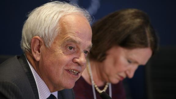 NEW YORK, NY - SEPTEMBER 20:  Minister of Immigration, Refugees and Citizenship of Canada John McCallum attends 2016 Concordia Summit - Day 2 at Grand Hyatt New York on September 20, 2016 in New York City.  (Photo by Paul Morigi/Getty Images for Concordia Summit)