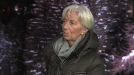Christine Lagarde: Bigger risks on the horizon
