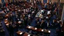 senate vote government shutdown raju nr vpx_00000601