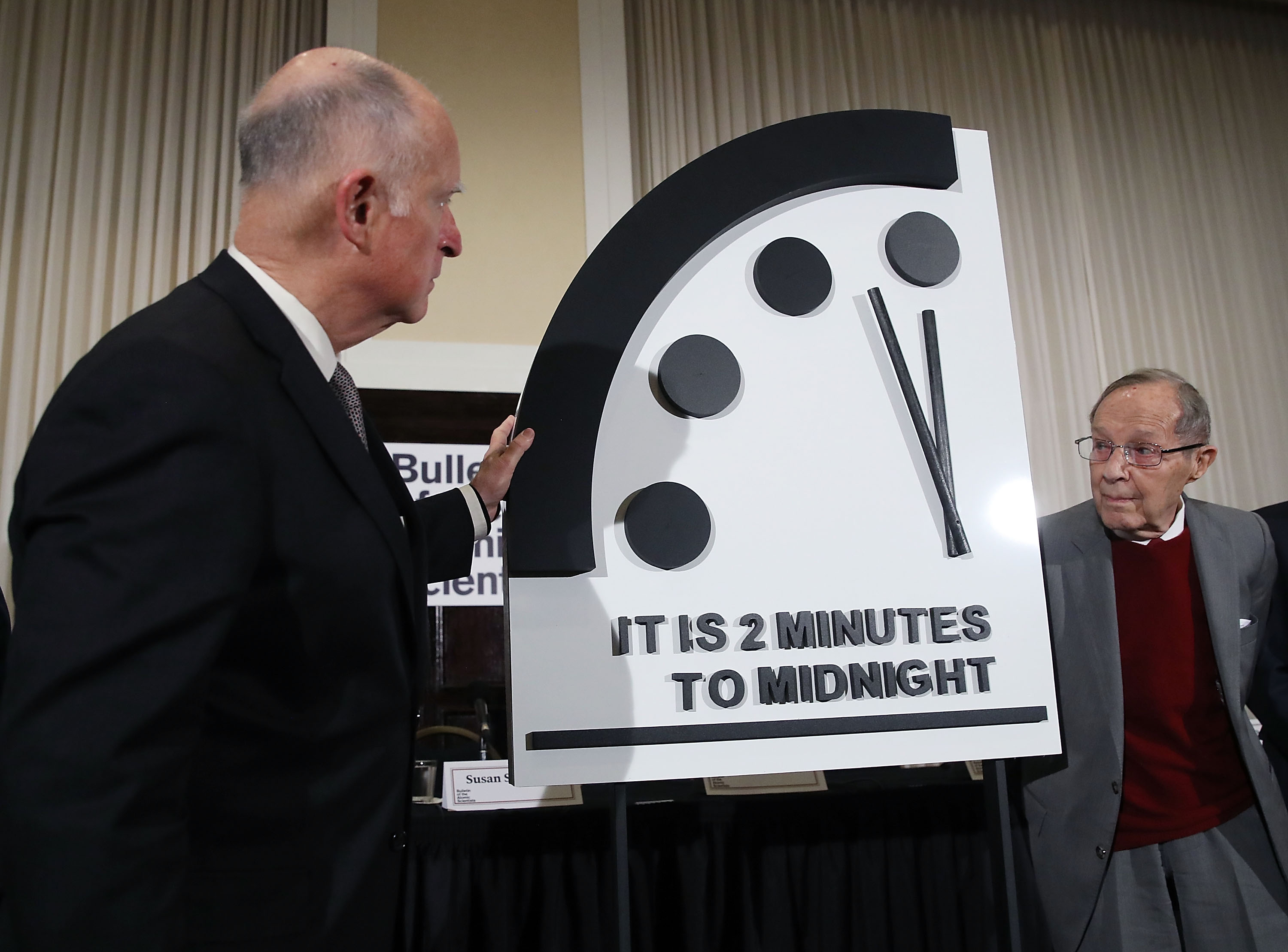 Doomsday Clock Moves Closer To Midnight Cnn Video