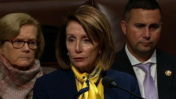 Nancy Pelosi on the House floor 1/24.