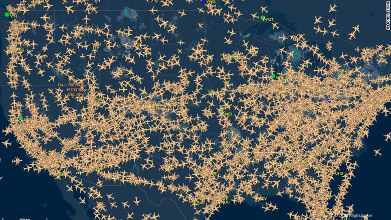 Air Traffic Controller There Is No Room For Error Cnn Video - Us-air-traffic-map