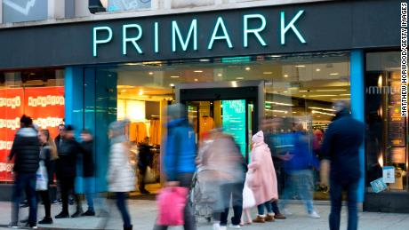Primark has apologized over the incident