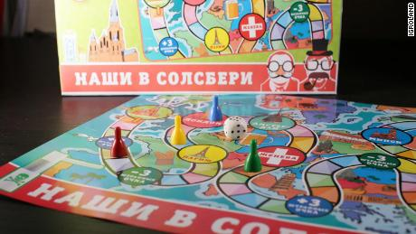'Our Guys in Salisbury' board game on sale in Russia