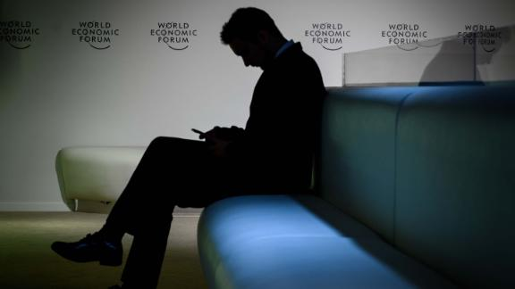 The mood at Davos was a lot darker this year.