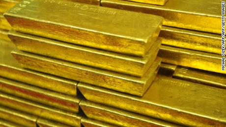 Gold bars, seen in a file image. A recent scam in Hong Kong allegedly saw victims handing over hundreds of thousands, or millions of dollars to fraudsters who promised to invest the cash in gold and other commodities on the London commodities market.