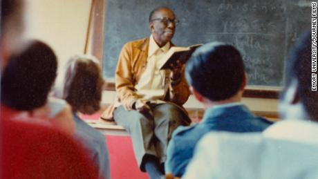 They called the Rev. Howard Thurman a mystic but his friends and students said he was a mesmerizing storyteller and a genuinely kind man.