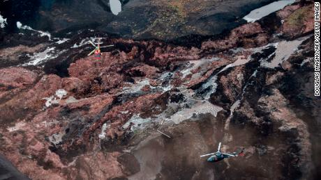 The consequences of the collapse of the dam near Brumadinho in southeast Brazil