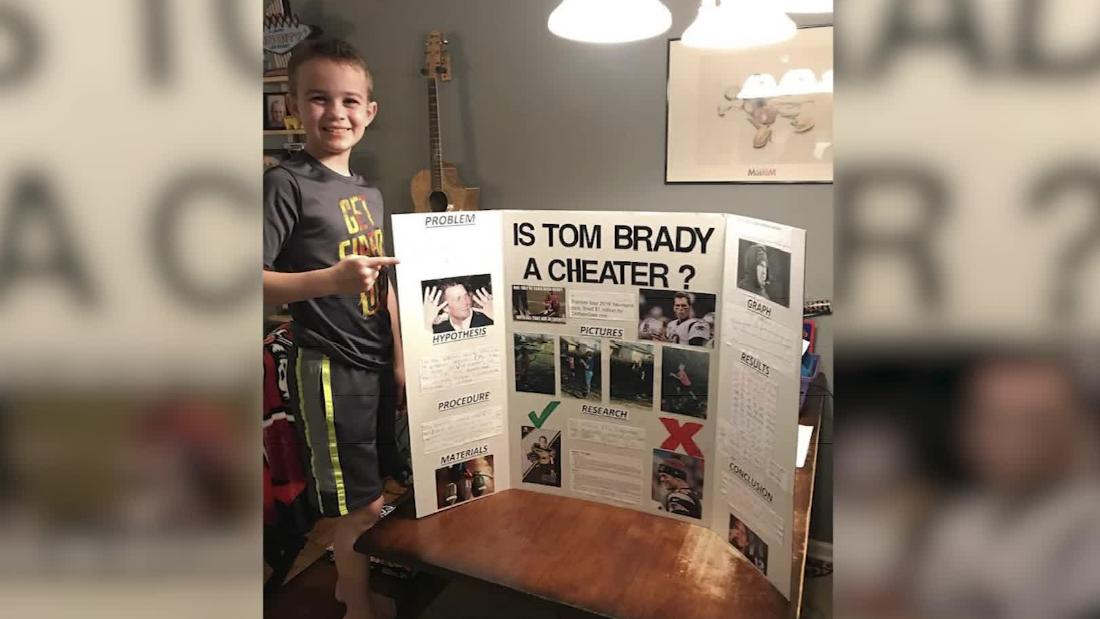 Kid's science project tackles 'Deflategate'