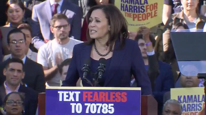 Kamala Harris officially launches 2020 presidential campaign ...