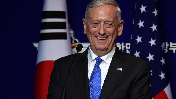 Former Secretary of Defense James Mattis