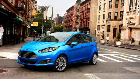 The Ford Fiesta is one of the keyless car models vulnerable to theft, according to the report.