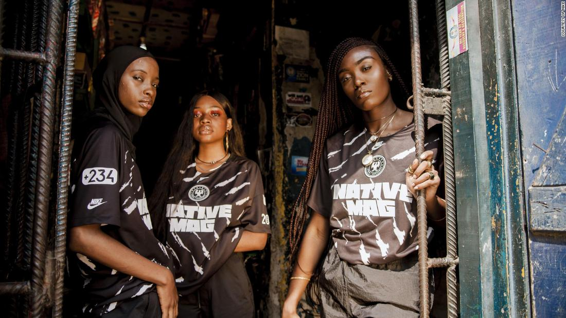 The 23-year-old Nigerian who designed a sold out Nike jersey