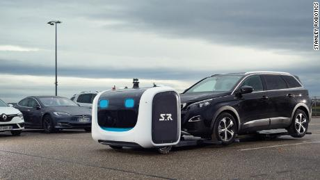 Robot valets may soon park your car at this London airport