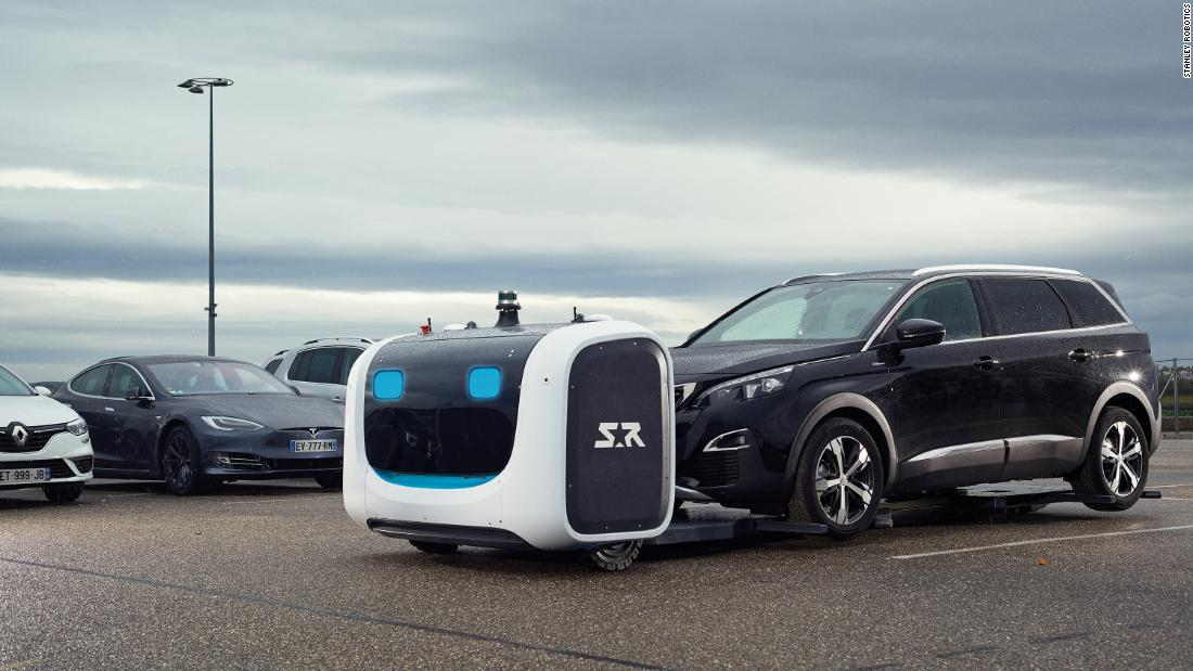 Robot valets head to London