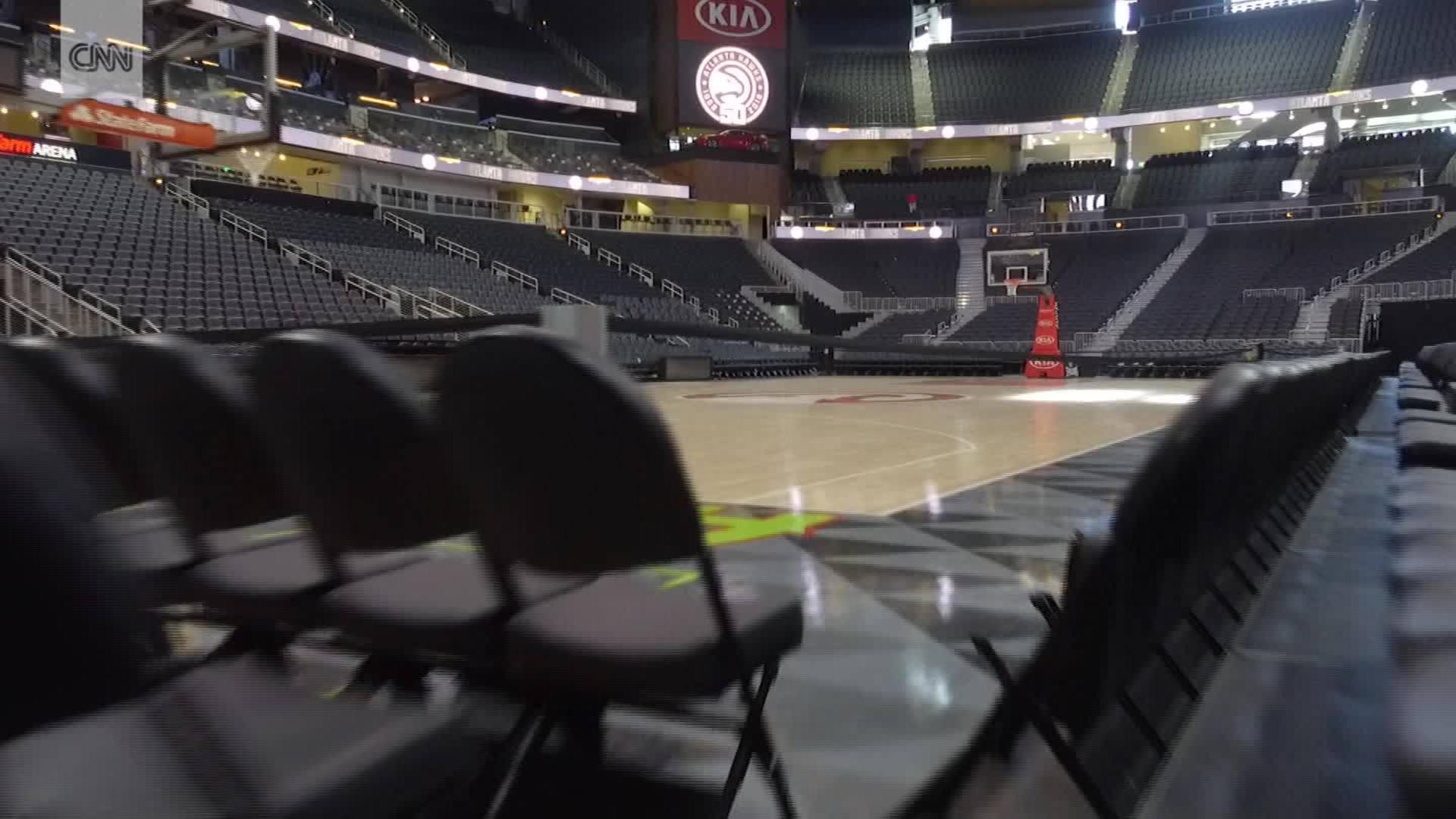 Inside State Farm Arena Cnn Video