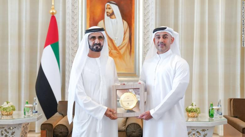 Award for Best Federal Entity Supporting Gender Balance went to the Federal Competitiveness and Statistics Authority and was received by director general Abdulla Nasser Lootah.