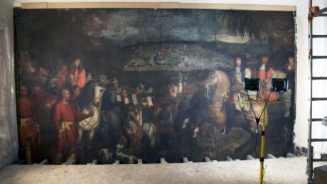 Centuries Old Painting Discovered Behind Wall In Paris